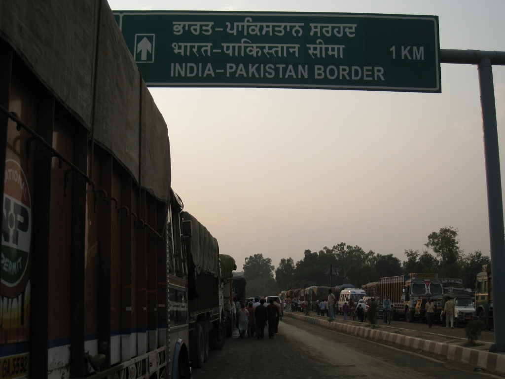 India-Pakistan border. Photograph by Krupa Asher.